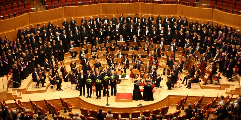 Kölner Philharmonie, Konzert Tippet, Brahms